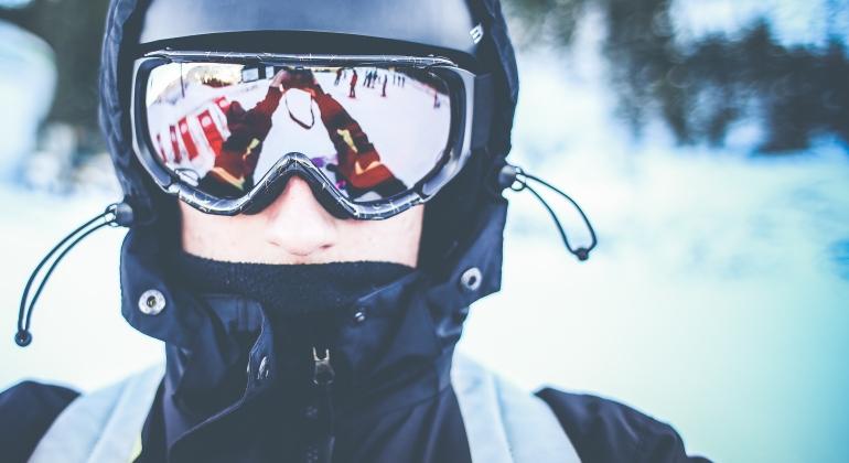 soczewki zimą