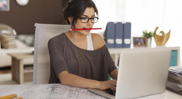 praca przy komputerze - ochrona