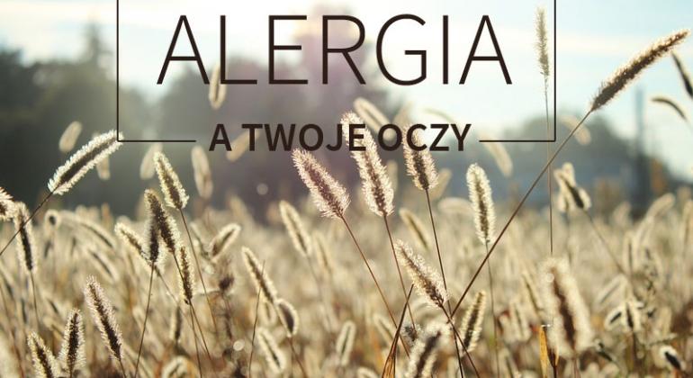 alergia zapalenie spojówek