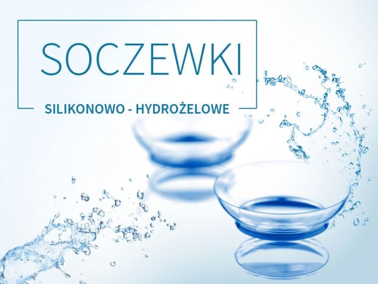 soczewki silikonowo - hydrożelowe