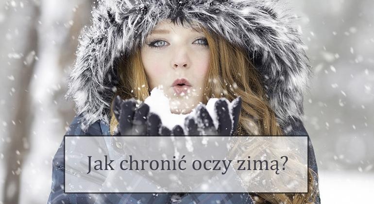jak chronić oczy zimą?