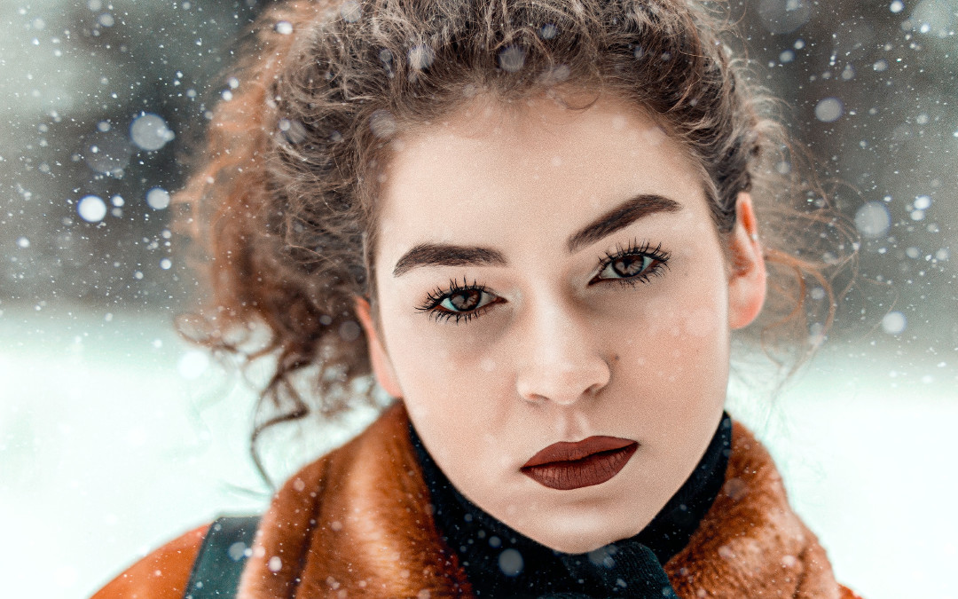 soczewki kontaktowe w zimie