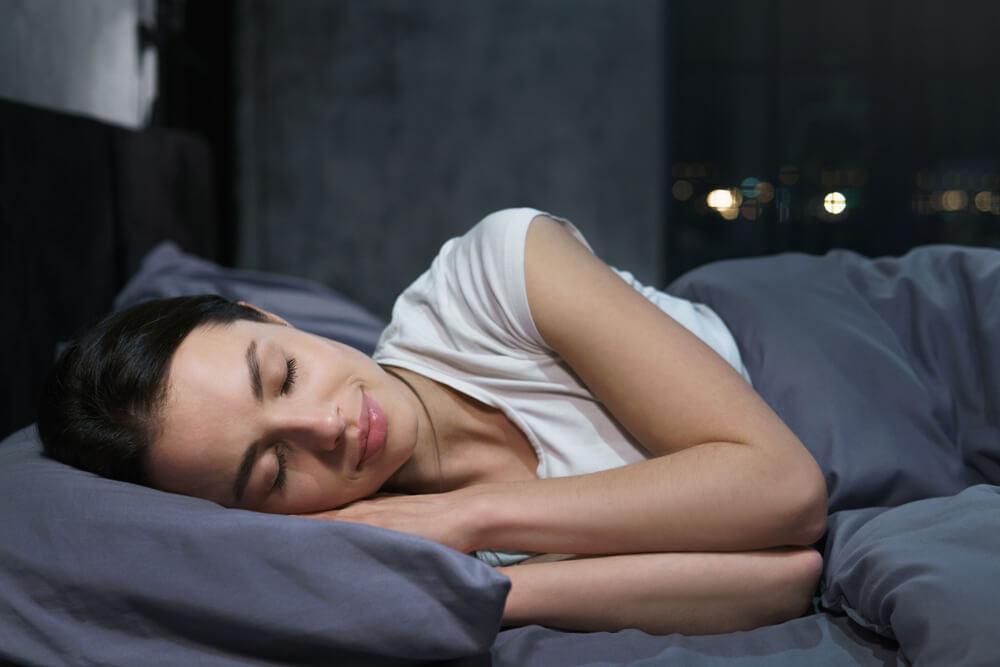 oczy w trakcie snu