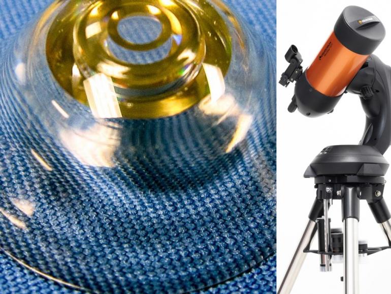 teleskopowe soczewki kontaktowe